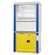 Шкаф вытяжной для работы с ЛВЖ ЛАБ-PRO ШВЛВЖ-J 120.75.245 F20