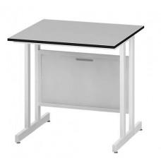 Стол пристенный низкий ЛАБ-PRO СПКн 90.80.75 F20
