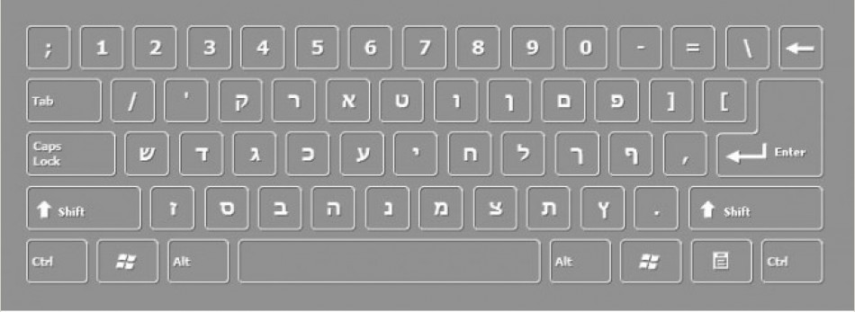 ONSCREEN HEBREW DESKTOP KEYBOARD FREE DOWNLOAD